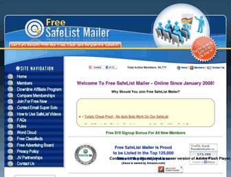 Thumbshot of Freesafelistmailer.com