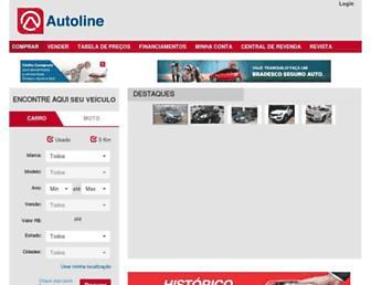 autoline.com.br screenshot