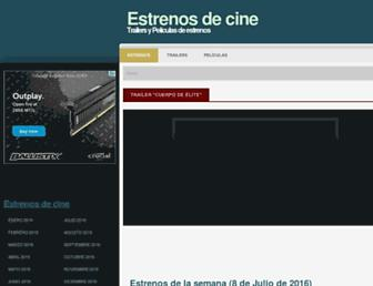 estrenosdecine.eu screenshot