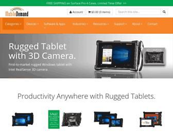ruggedtabletpc.com screenshot