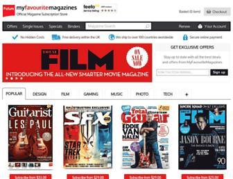 Thumbshot of Myfavouritemagazines.co.uk