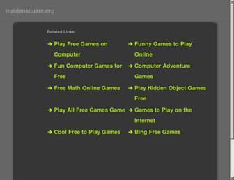 Main page screenshot of jobpostings.maldensquare.org