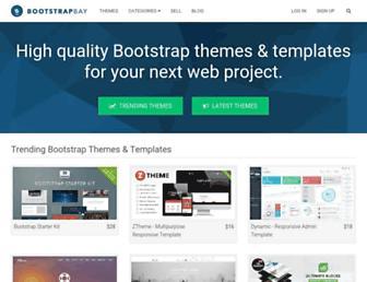 Thumbshot of Bootstrapbay.com