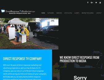 directresponsetvproduction.com screenshot