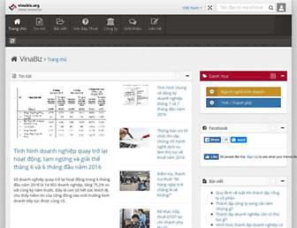 vinabiz.org screenshot
