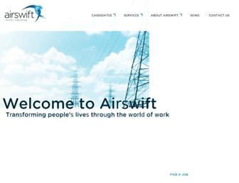 airswift.com screenshot