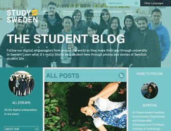 blogs.studyinsweden.se screenshot