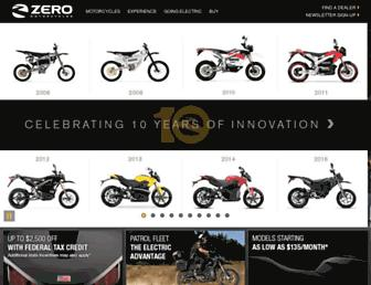 Thumbshot of Zeromotorcycles.com