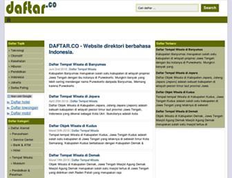 daftar.co screenshot