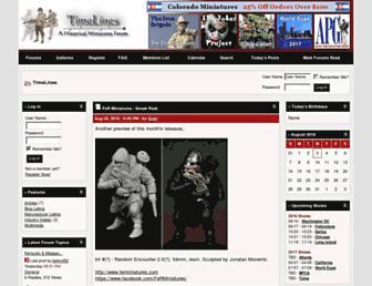 timelinesforum.com screenshot