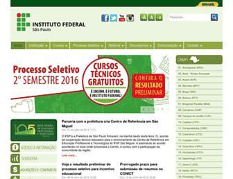 Thumbshot of Ifsp.edu.br