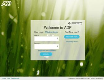 workforcenow.adp.com screenshot