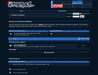 Thumbshot of Passesforthemasses.com
