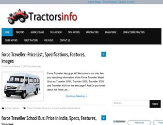 tractorsinfo.com screenshot