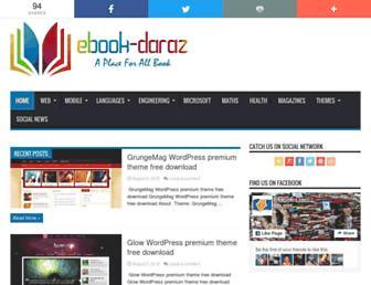 ebook-daraz.com screenshot