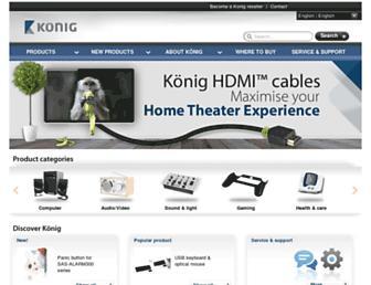 konigelectronic.com screenshot