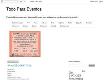 todo-para-eventos.blogspot.com screenshot