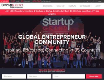 startupgrind.com screenshot