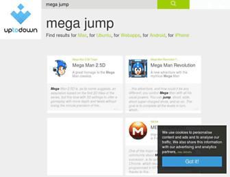 mega-jump.en.uptodown.com screenshot