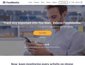 fonemonitor.com screenshot