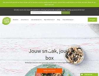 Thumbshot of Hellofresh.nl