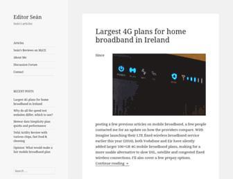 editorsean.com screenshot