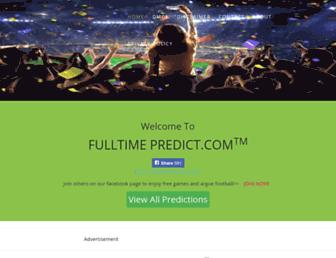 fulltime-predict.com screenshot
