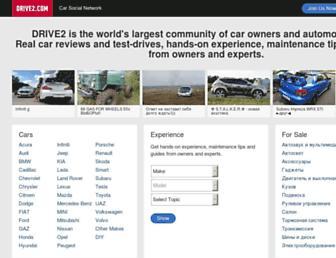 drive2.com screenshot