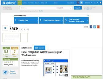 face.en.softonic.com screenshot