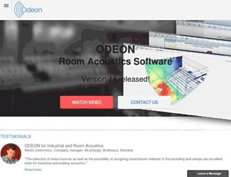 odeon.dk screenshot