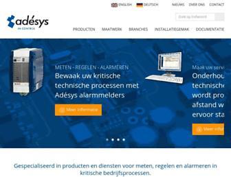 adesys.nl screenshot