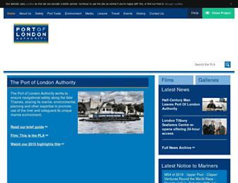 pla.co.uk screenshot