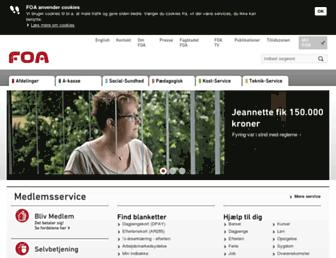 Thumbshot of Foa.dk