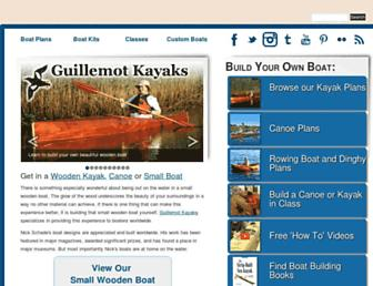 guillemot-kayaks.com screenshot