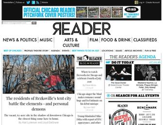 Thumbshot of Chicagoreader.com
