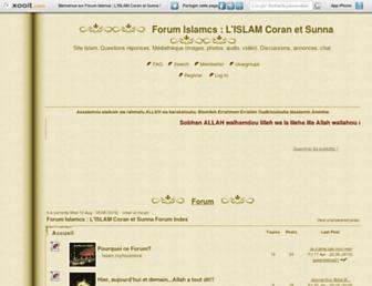 islam.myforumlive.com screenshot