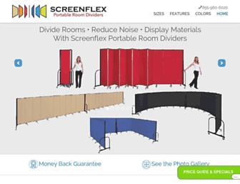 screenflex.com screenshot