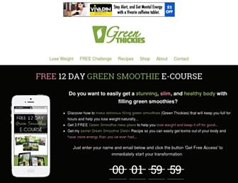 Thumbshot of Greenthickies.com