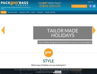 Thumbshot of Packyourbags.com