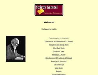 strictlygenteel.co.uk screenshot