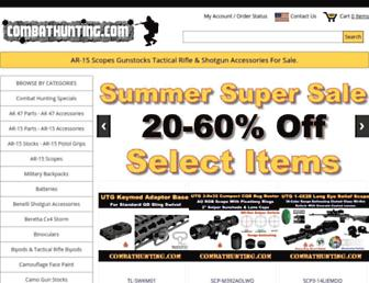 combathunting.com screenshot