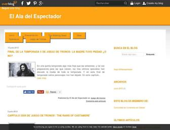 elaladelespectador.over-blog.es screenshot