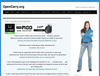 Thumbshot of Opencarry.org