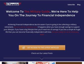 the-military-guide.com screenshot