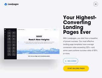 Thumbshot of Leadpages.net