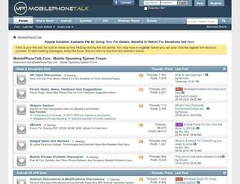 Thumbshot of Mobilephonetalk.com