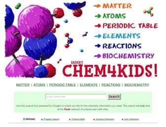 Thumbshot of Chem4kids.com