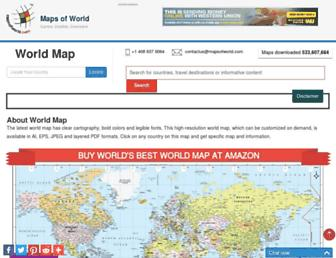Thumbshot of Mapsofworld.com