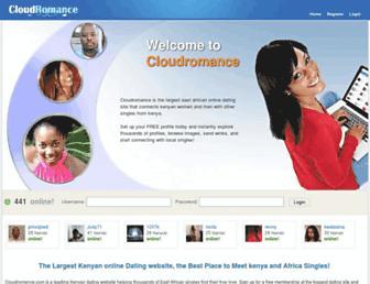 cloudromance.com screenshot