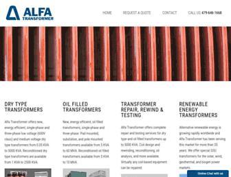 alfatransformer.com screenshot